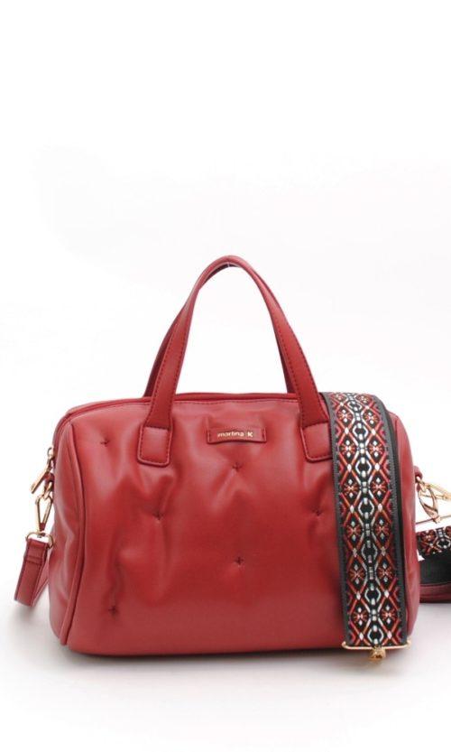 Bolso baúl grande asa color