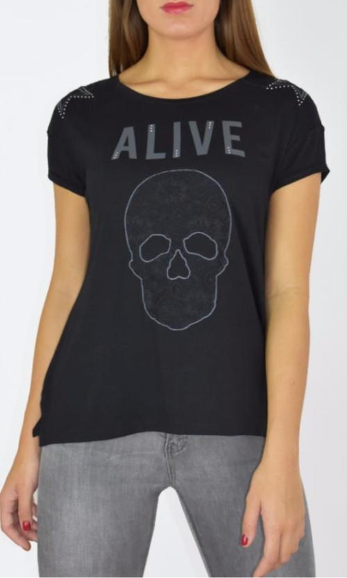 Camiseta alive