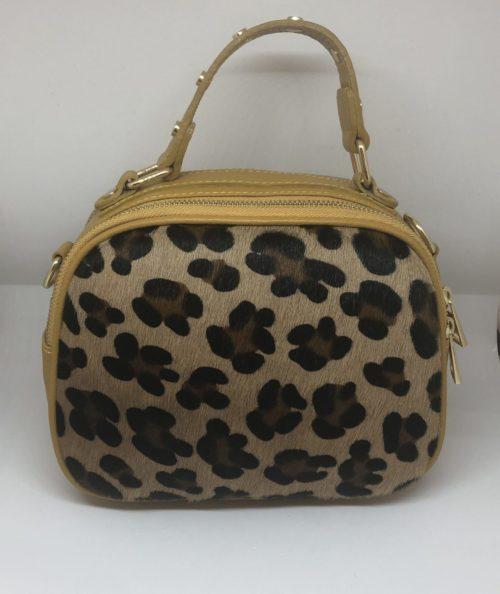 Bolso leopardo y mostaza