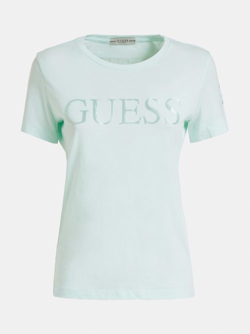 camiseta logo guess