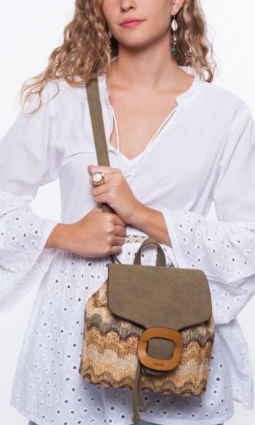 bolso mochila dos posiciones