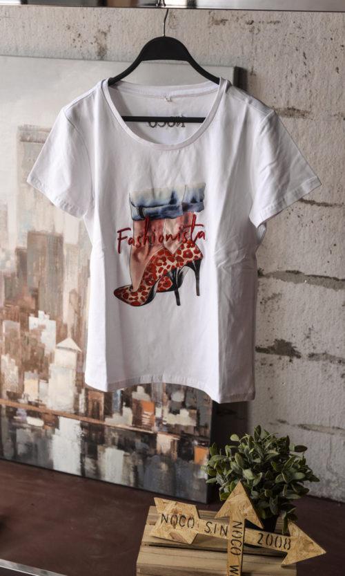 camiseta fashionista noco