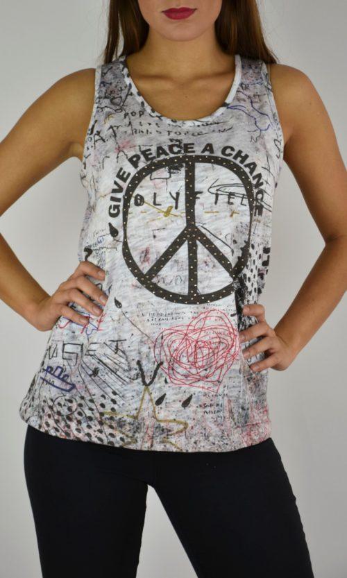 camiseta pura vida peace 2