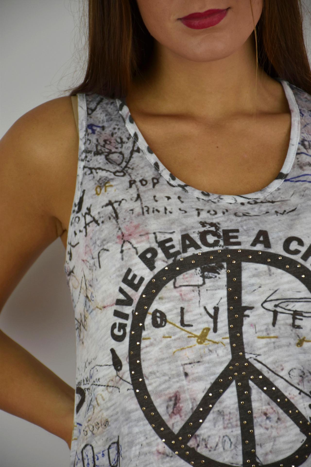 camiseta pura vida peace 3