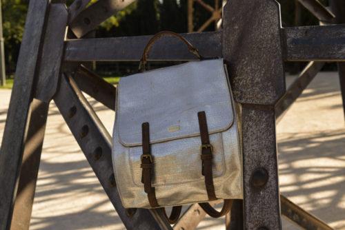 mochila lona vintage plata 1