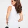 camiseta guess blanca