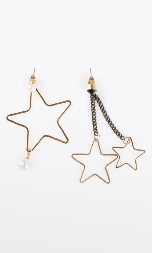 pendientes-asimetricos-de-estrellas
