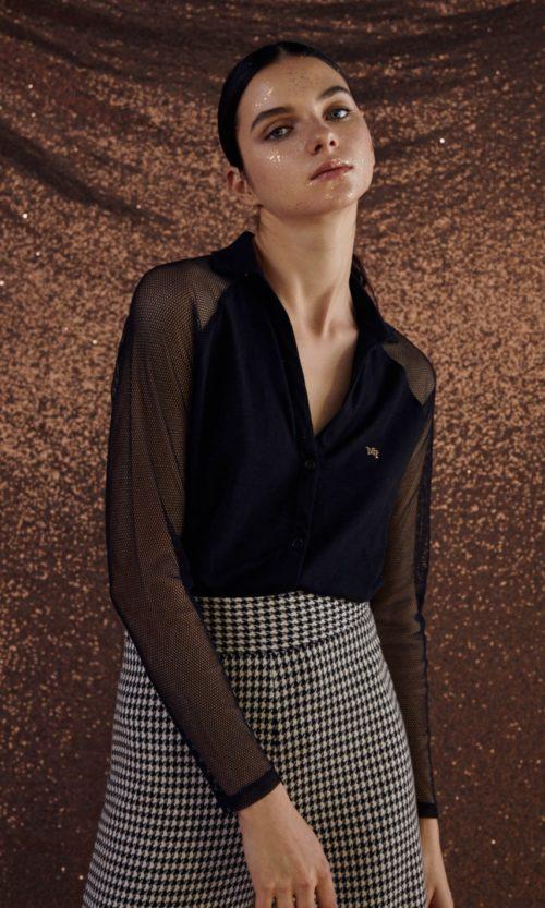 camisa-de-punto-y-rejilla-negro-32160010