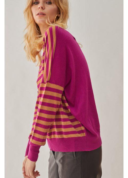 jersey-cuello-pico-rayas-rosa-12161024