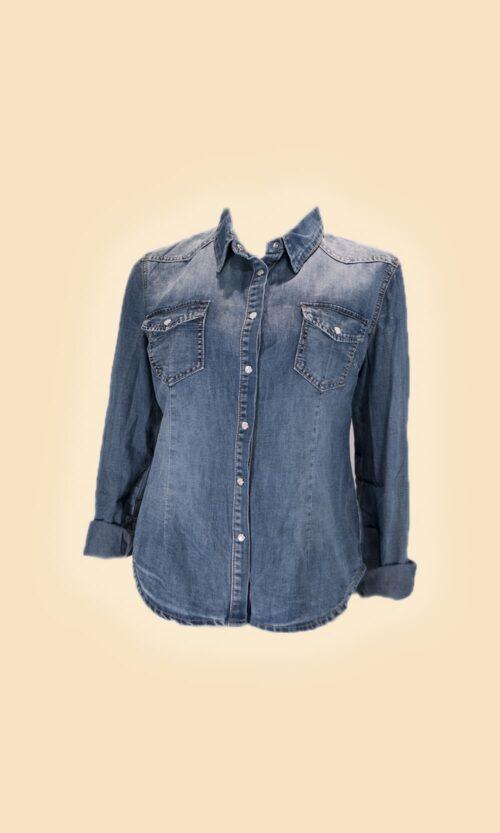 sao camisa tejana moda mujer