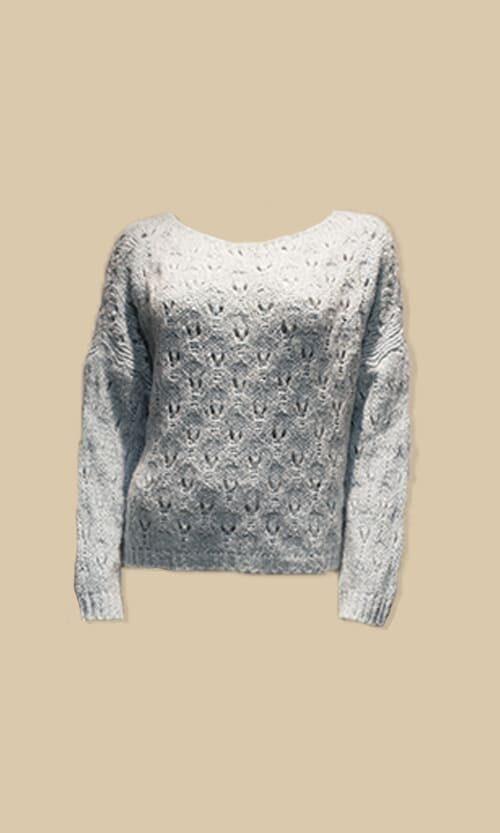 sao jersey agujeros moda mujer