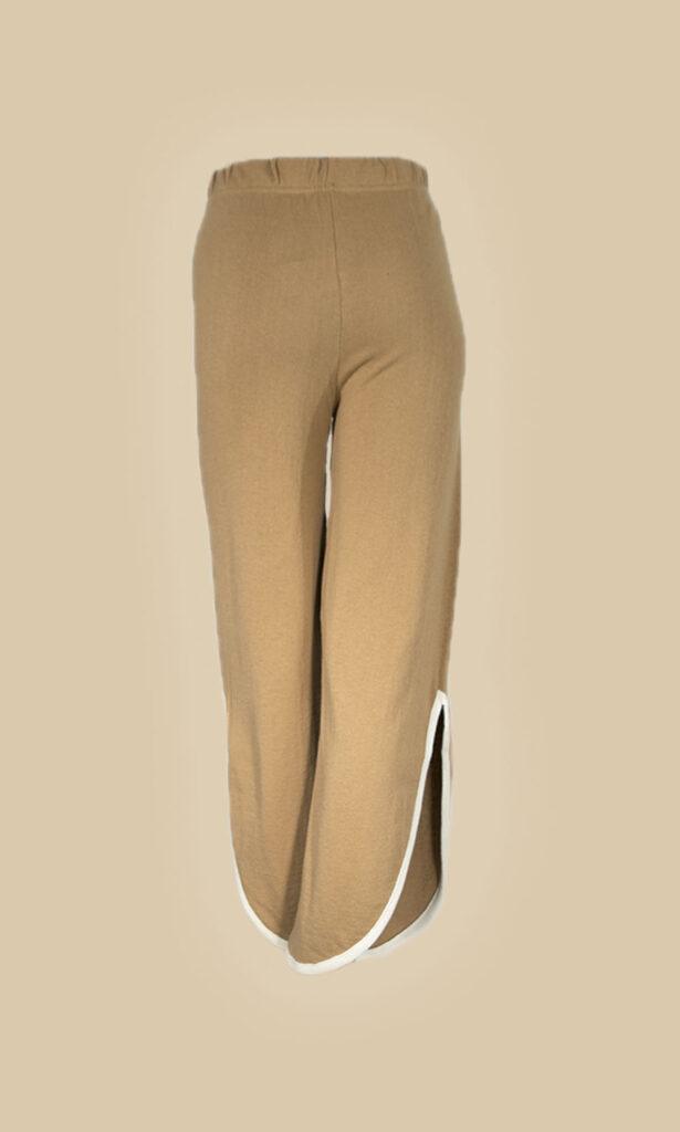 moda mujer pantalon punto