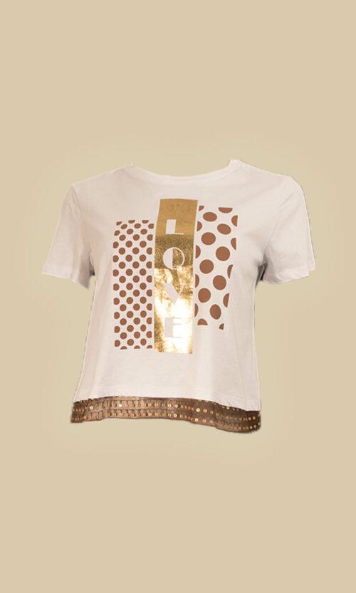 camiseta moda mujer