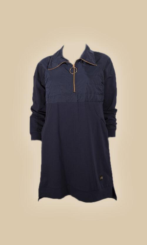 vestido cremallera moda mujer