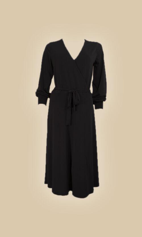 vestido escote en v moda mujer