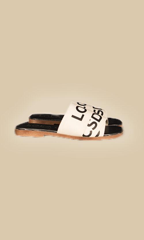 sandalia plana moda mujer