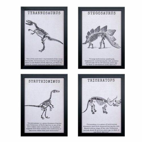 cuadro dinosaurios deco
